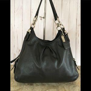 Coach mia Maggie Black Shoulder Bag